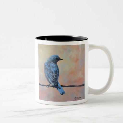 Mountain Bluebird Fine Art Mug