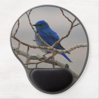 Mountain Bluebird Gel Mouse Pad