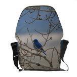 Mountain Bluebird Messenger Bag