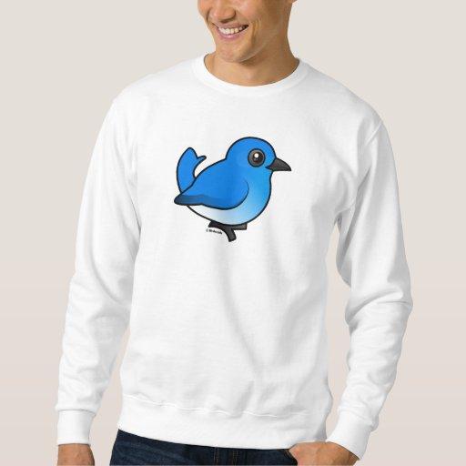 Mountain Bluebird Pull Over Sweatshirt