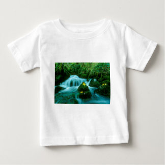 Mountain brook, flowing water, baby T-Shirt