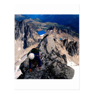 Mountain Bugaboo Spire Canada Postcard
