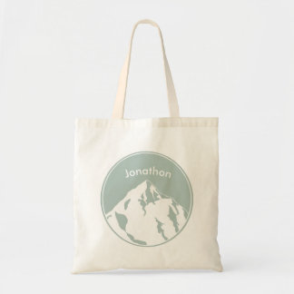 Mountain Bum Personalized Tote Bag