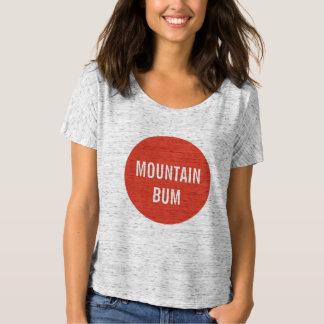 Mountain Bum Red Bubble Shirt