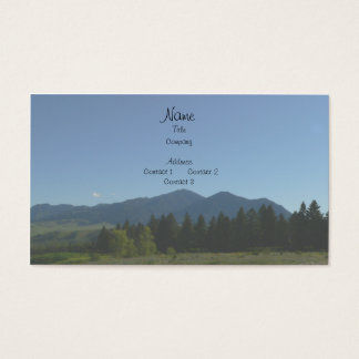 Mountain Business Cards