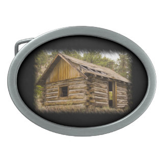 Mountain Cabin 2 Belt Buckle