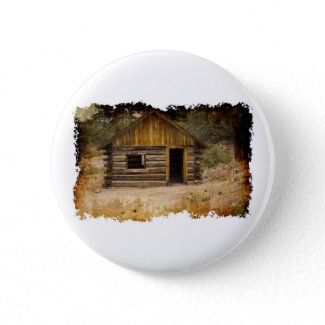 Mountain Cabin Buttons