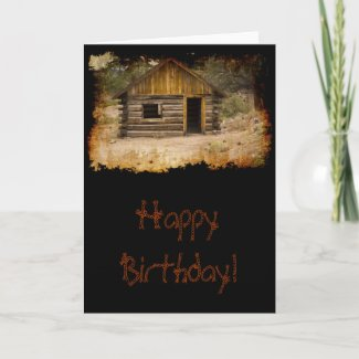 Mountain Cabin Cards