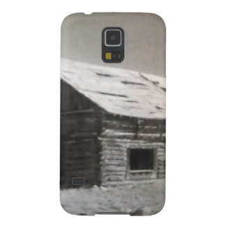 Mountain Cabin Galaxy S5 Cases