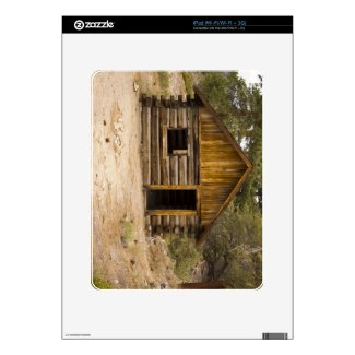 Mountain Cabin Decal For The Ipad