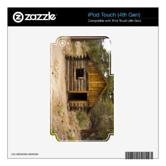 Mountain Cabin Decals For Ipod Touch 4g