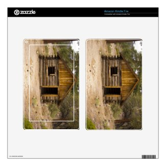 Mountain Cabin Kindle Fire Skins
