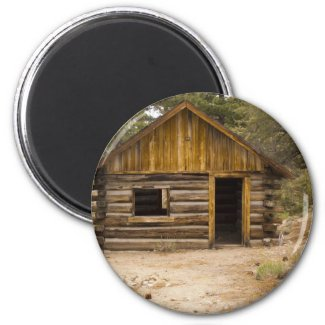 Mountain Cabin Magnets