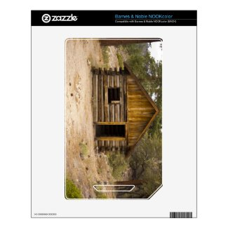Mountain Cabin Nook Color Decal