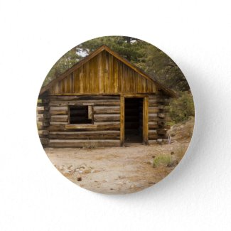 Mountain Cabin Pin