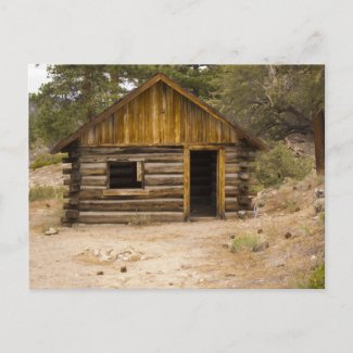 Mountain Cabin Post Cards