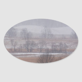 Mountain Cades Cove Great Park Oval Sticker