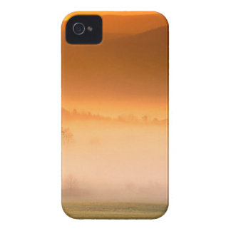 Mountain Cades Cove Sunrise Great Smoky Tenne iPhone 4 Case-Mate Cases