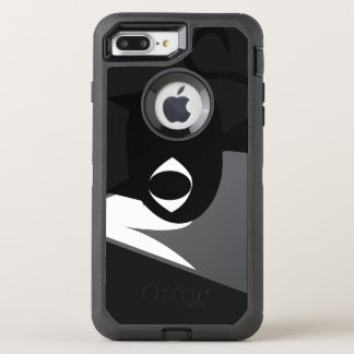 Mountain cat OtterBox defender iPhone 8 plus/7 plus case