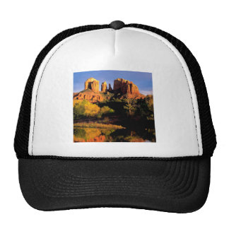 Mountain Cathedral Rock Sedona Arizona Hats