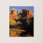 Mountain Cathedral Rock Sedona Arizona Jigsaw Puzzles