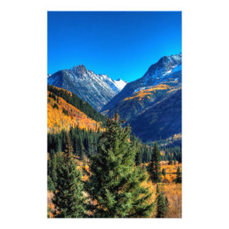 Mountain Center Creek Forest Stationery Paper