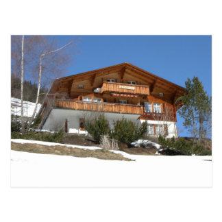Mountain chalet, Gimmelwald, Jungfrau,Switzerland Postcard