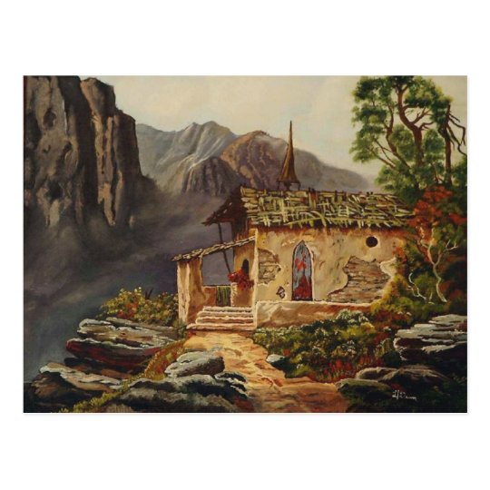 Mountain Chapel Postcard