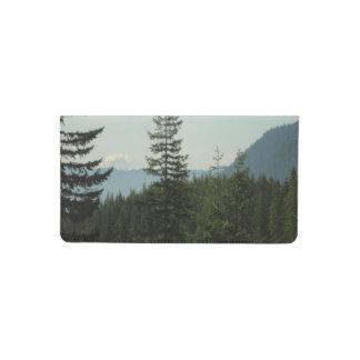Mountain Checkbook Cover
