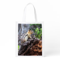 Mountain Chipmunk Reusable Bag