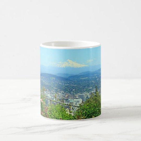 Mountain City Scenic, Portland, OR Coffee Mug
