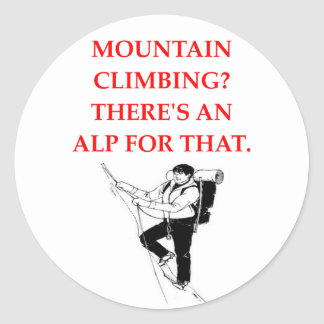 MOUNTAIN CLASSIC ROUND STICKER