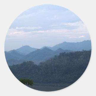 Mountain Classic Round Sticker