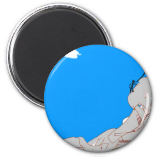 mountain-climber 1 2 inch round magnet