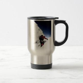 Mountain Climber Extreme Sports Travel Mug