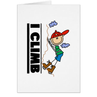 Mountain Climber I Climb  Card