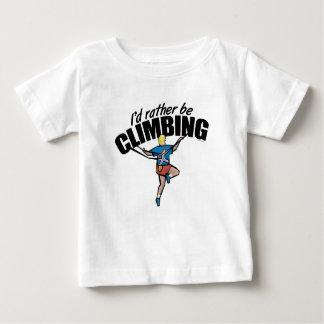 Mountain Climbing Baby T-Shirt