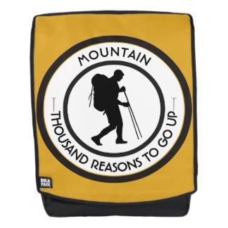 Mountain climbing backpack