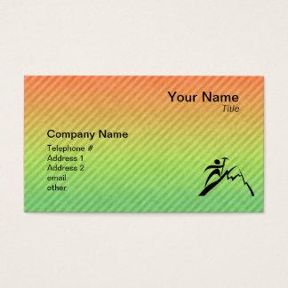 Mountain Climbing Business Card