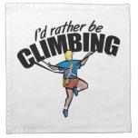 Mountain Climbing Cloth Napkin