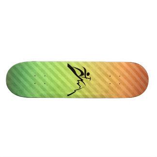Mountain Climbing Custom Skateboard