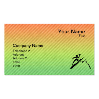 Mountain Climbing Double-Sided Standard Business Cards (Pack Of 100)