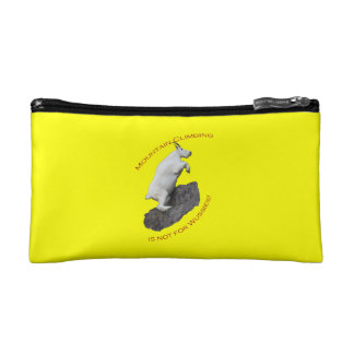 Mountain Climbing is not for Wussies Cosmetic Bag
