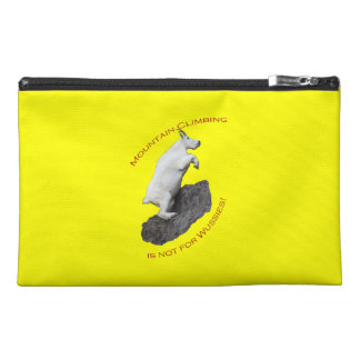 Mountain Climbing is not for Wussies Travel Accessories Bag