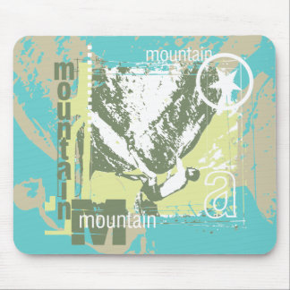 Mountain Climbing Tshirts and Gifts Mouse Pad