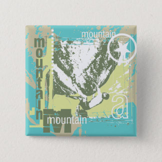 Mountain Climbing Tshirts and Gifts Pinback Button