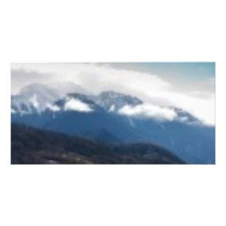 Mountain Cloud Card