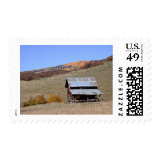 mountain collection2 postage stamp