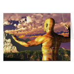 Mountain Conductor Greeting Card