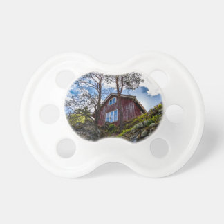 Mountain cottage baby pacifiers